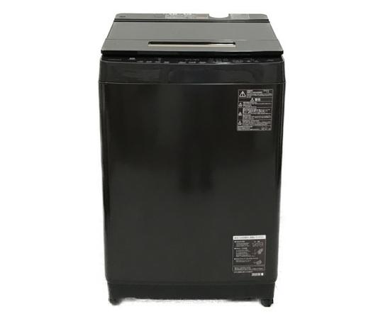 【中古】 TOSHIBA 東芝 ZABOON AW-10SD8 2019年製 全自動 洗濯機 10kg 家電【大型】 N5144163