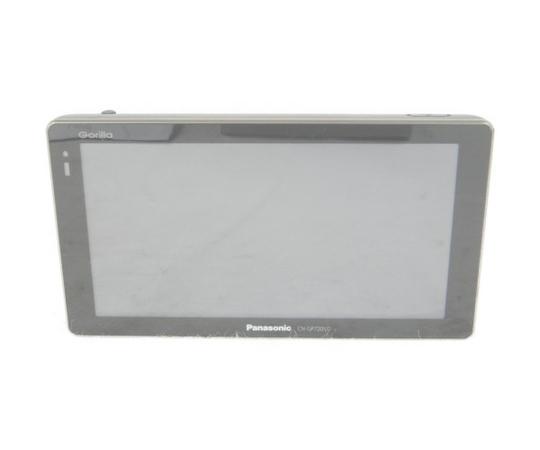 【中古】 Panasonic パナソニック Gorilla CN-GP720VD ポータブル SSDナビ ブラック K3854966