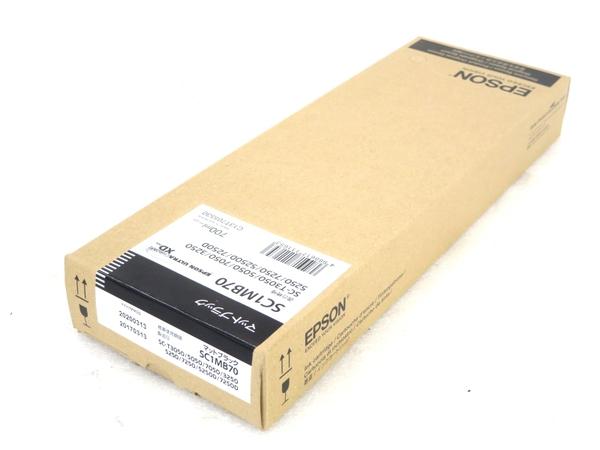 未使用 【中古】 未使用 EPSON SC1MB70 トナー インクジェットプリンタ用 プリンタ M3505479