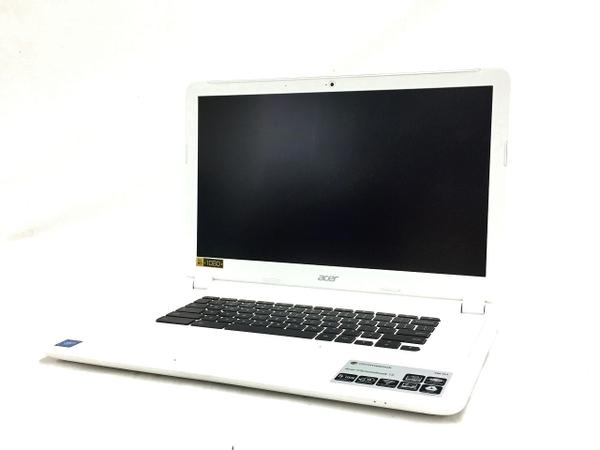 【中古】 Acer エイサー Chromebook 15 CB5-571 ノート パソコン PC 15.6型 FHD Celeron 3215U 1.7GHz 4GB 16GB ChromeOS T3486812