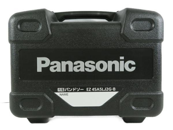 未使用 【中古】 未使用 パナソニック EZ45A5LJ2G-B 18V 5.0Ah 充電 バンドソー 電動工具 S3559138