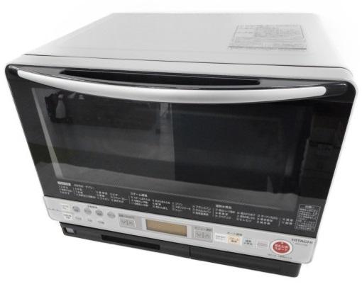 【中古】 HITACHI 日立 MRO-FS8 H 加熱 水蒸気 オーブンレンジ ライトグレー キッチン 台所 料理【大型】 W3303034