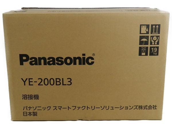 新品 【中古】 Panasonic パナソニック YE-200BL3 フルデジタル 直流 TIG 溶接機 工具 メーカー保証有 S3170594