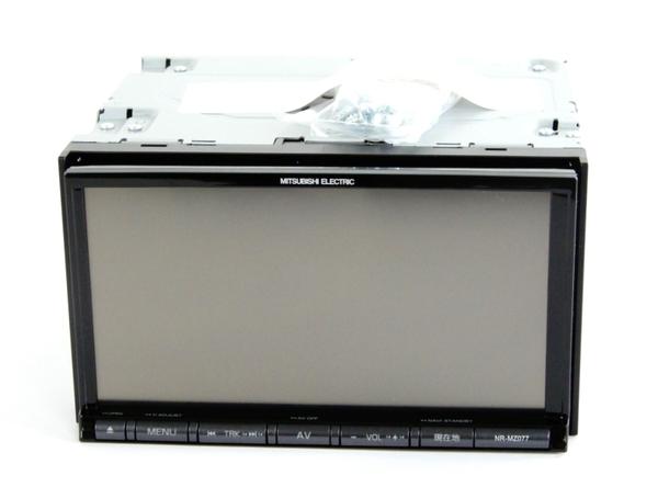 未使用 【中古】 MITUBISHI 三菱 NR-MZ077-3 ナビ 一体型 フルセグ メモリ 機器 カー 用品 Y3653000