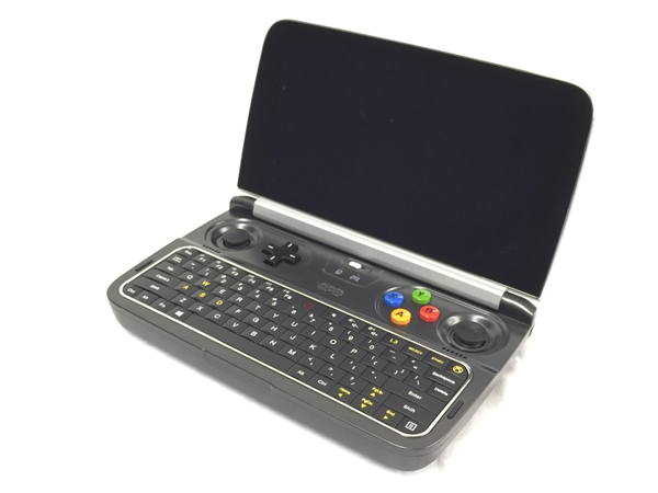 【中古】 GPD WIN 2 UMPC ノート パソコン m3-7Y30 1.00GHz 8GB SSD512GB Win10 Home 64bit 中古 T3679567