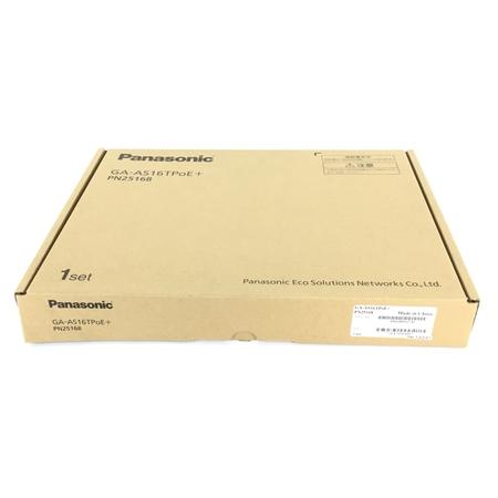 未使用 【中古】 Panasonic パナソニック GA-AS16TPoE+ PN25168 給電スイッチングハブ Ver.1.0.0.07 Y3920911
