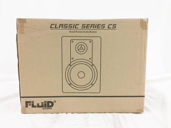 未使用 【中古】 Fluid Audio C5W 2Way バスレフ型 Monitor Speaker ホワイト 未開封  T3760278