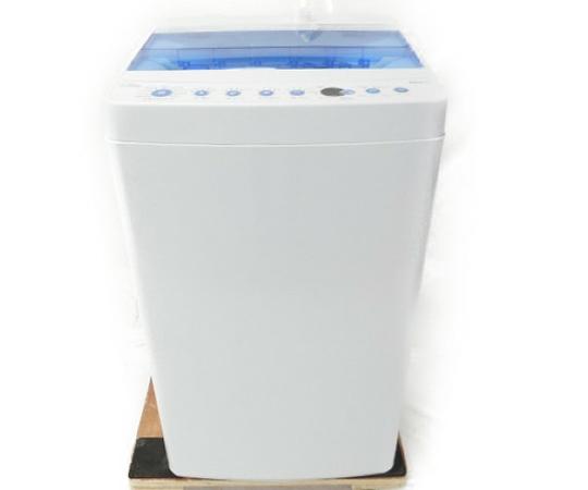 美品 【中古】 Haier ハイアール JW-C55CK 全自動 洗濯機 5.5kg 縦型 18年製 生活家電 【大型】 W3213596