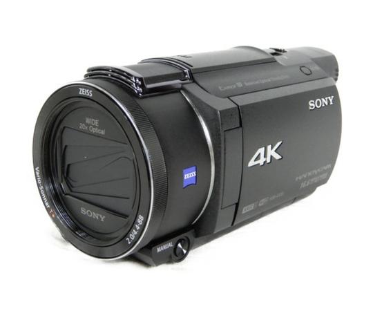 【中古】 SONY ソニー 4K ビデオカメラ ハンディカム FDR-AX55 レコーダー Handycam K3878952