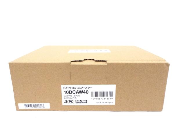 未使用 【中古】 マスプロ 共同受信用 CATV・BS・CSブースター 10BCAW40 40dB型 テレビブースター T3852204