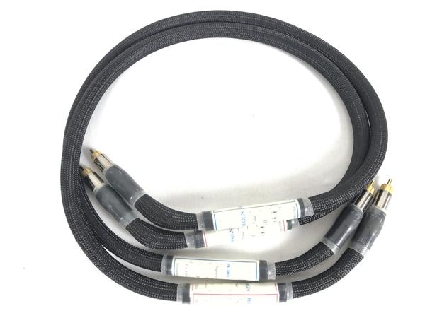 【中古】 PAD Purist Audio Design Signature Series MIZUNOSEI 1m RCAケーブル 2本 ペア S3909201