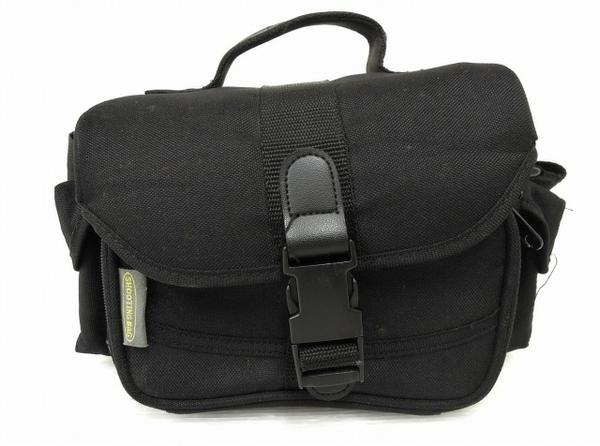 中古 SHOOTING BAG シューティング バッグ ソフトバッグ O5781138 カメラ ブラック メーカー公式ショップ 高級