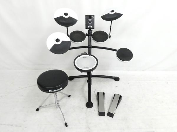 高質で安価 【 Y5231852 V-Drum】 Roland TD-1KV V-Drum ローランド 電子ドラム スローン モニタヘッドホン 付属 打楽器 ローランド Y5231852, アナンチョウ:093717e0 --- cpps.dyndns.info