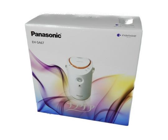 未使用 【中古】 Panasonic パナソニック EH-SA67-P スチーマー ナノケア 2Wayタイプ 2018年製 美容 K3455886