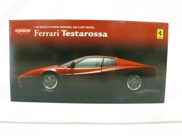 未使用 【中古】 京商 08422R Ferrari Testarossa RED 1/18 kyosho フェラーリ テスタロッサ ダイキャストモデル T3277186