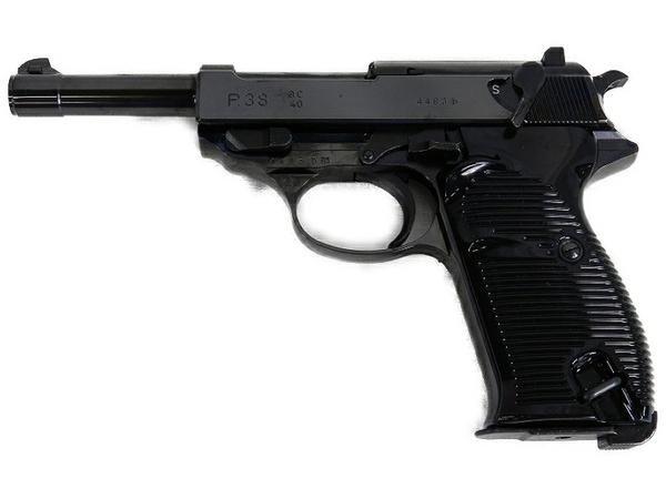 【中古】 MARUZEN マルゼン ワルサーP38 ブローバック ガスガン ブラック S3496471