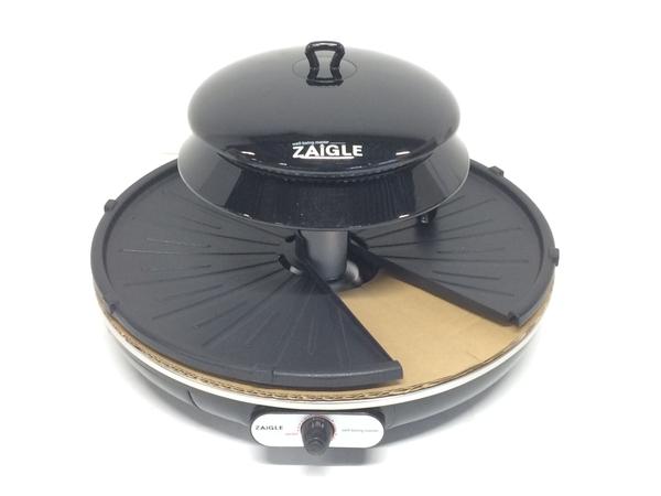 未使用 【中古】 TUF ザイグル JAPAN-ZAIGLE 赤外線 ロースター ホットプレート 調理家電 ブラック 未使用 F5159473