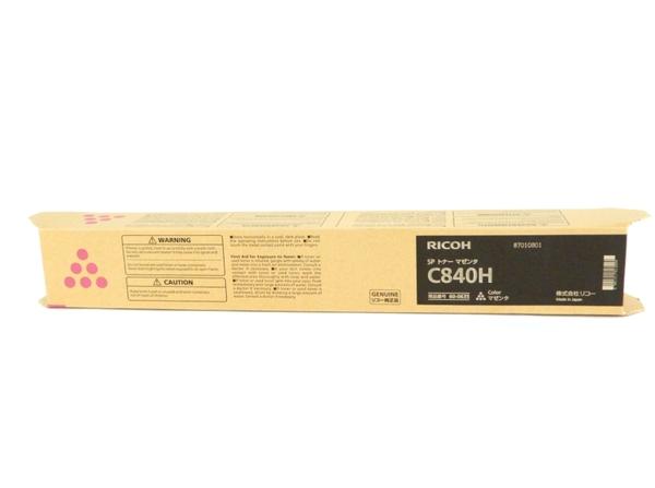未使用 【中古】 RICOH リコー C840H SP トナー カートリッジ マゼンダ Y3505258