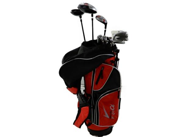【中古】 ゴルフクラブセット ワールドイーグル F01 α 10本セット S3669604