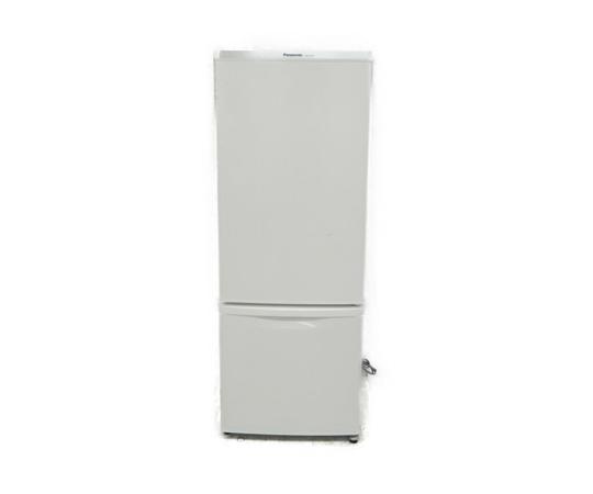 【中古】 Panasonic パナソニック NR-B175W-W 冷蔵庫 168L 2ドア 右開き ホワイト 2013年製 【大型】 K3645152
