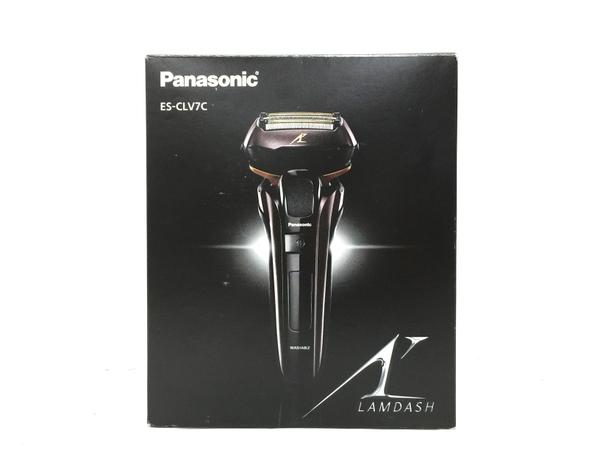 未使用 【中古】 Panasonic LAMDASH ES-CLV7C シェーバー メンズ パナソニック ラムダッシュ O5150305