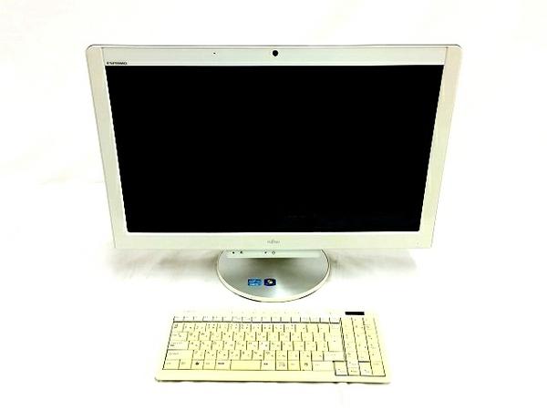 【中古】 FUJITSU FMV ESPRIMO FH76/CD FMVF76CDW 一体型 パソコン i5 2520M 2.50GHz 4GB HDD 1.5TB Win7 HP 64bit T3602070