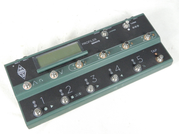 【中古】KEMPER ケンバー REMOTE リモート アンプ用 フット スイッチ コントローラー K3890431