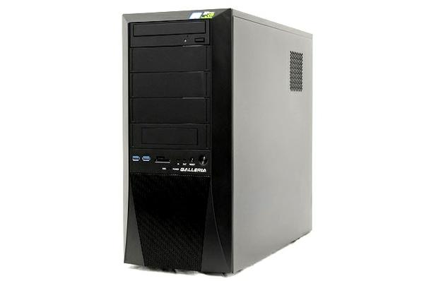 【中古】 Thirdwave Diginnos GALLERIA XV(KT02/H370) デスクトップ パソコン i7 8700 3.20GHz 8GB SSD 500GB HDD 2.0 TB Win10 Home 64bit T3841218