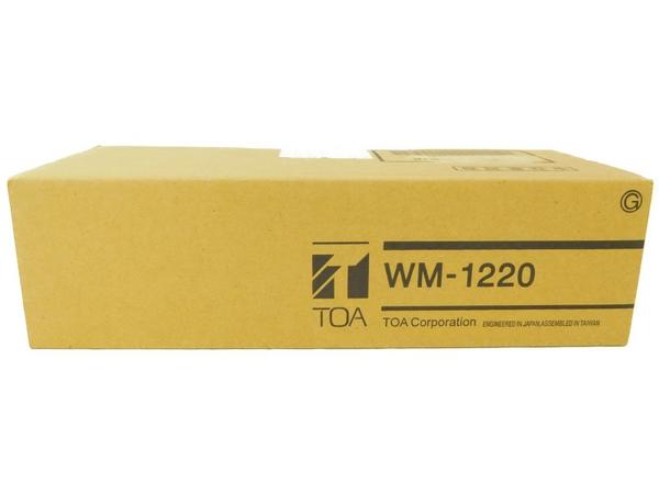 未使用 【中古】 TOA トーア WM-1220 ワイヤレス マイク ハンド型 N4860850