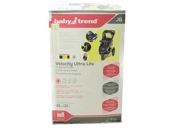 未使用 【中古】 ベビーカー Velocity Ultra Lite Jogger ウルトラライトジャガー Bumble Bee Baby Trend S3502733