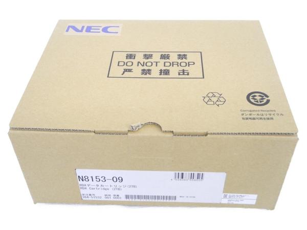 未使用【中古】 バックアップ NEC RDX データカートリッジ 2TB N8153-09 バックアップ 2TB NEC N3800078, ヌマタシ:1c752149 --- officewill.xsrv.jp