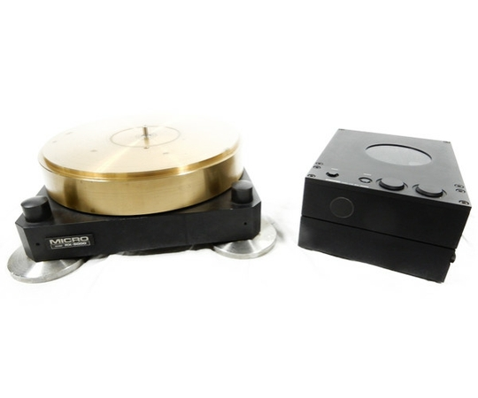 【中古】 MICRO SX-5000 RX-5000 RY-5500 レコードプレーヤー 砲金製ターンテーブル K3105834