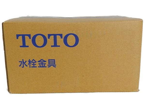 未使用 【中古】 TOTO TENA13AL アクアート 横水栓 13 自動 水栓 金具 洗面 S3501909