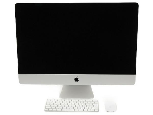 【中古】 良好 Apple アップル iMac MNEA2J/A 一体型PC 27型 Retina 5K i5 7600 3.5GHz 8GB SSD28GB HDD1TB Mojave 10.14 Radeon Pro 575 T3866629