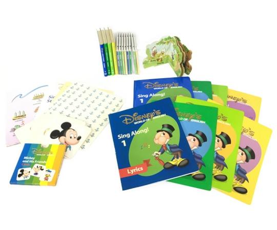 【中古】 中古 ディズニーの英語システム DWE シングアロング 2008年頃 子供英語 教材 N3990227