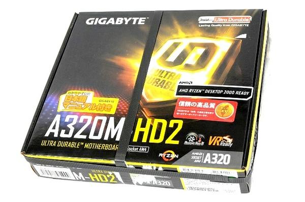 未使用 【中古】 未開封 GIGABYTE GA-A320M-HD2 マザーボード パソコン アクセサリー パーツ T3664268