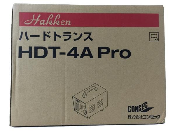 未使用 【中古】 未使用 コンセック HDT-4A pro ハードトランス 昇圧用 200V S3921869
