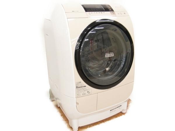 【中古】 HITACHI 日立 ビッグドラム BD-V3700L 洗濯乾燥機 ドラム式 6.0kg【大型】 S3390953