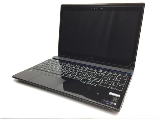 T3448344 i7 【中古】 4K NS850/AAB PC UHD SSHD1TB 8GB 5500U Win8.1 15.6型 NEC LAVIE クリスタルブラック 2.4GHz パソコン PC-NS850AAB 64bit ノート