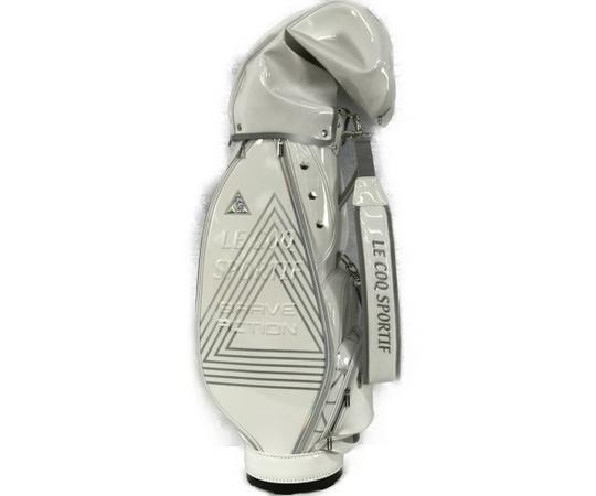 美品 【中古】 レディース ルコック ゴルフ キャディバッグ 8.5型 QQCNJJ00 未使用 S4986635