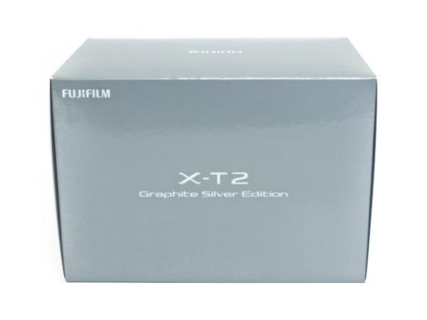 未使用 【中古】 富士フイルム FUJIFILM X-T2 Graphite Silver Edition ミラーレス 一眼 カメラ F3628494