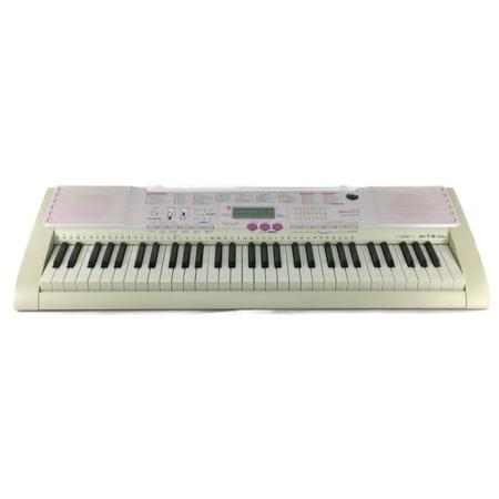 【中古】 CASIO カシオ LK-107 光ナビゲーション 電子 ピアノ 61鍵 キーボード 鍵盤 楽器 Y3880862