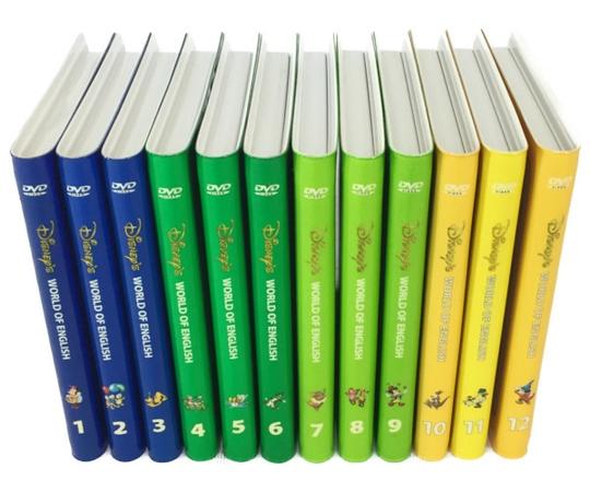 【中古】 中古 ディズニーの英語システム DWE ストレートプレイ DVD 12枚セット 2008年頃 子供英語 教材 N3990226
