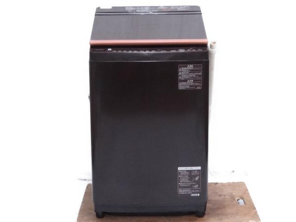 【中古】 TOSHIBA 東芝 AW-10SV6 縦型 洗濯 乾燥機 10kg 2017年製【大型】 N3597416