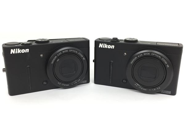 【中古】 Nikon COOLPIX P310 コンデジ ブラック 2個セット T3518755