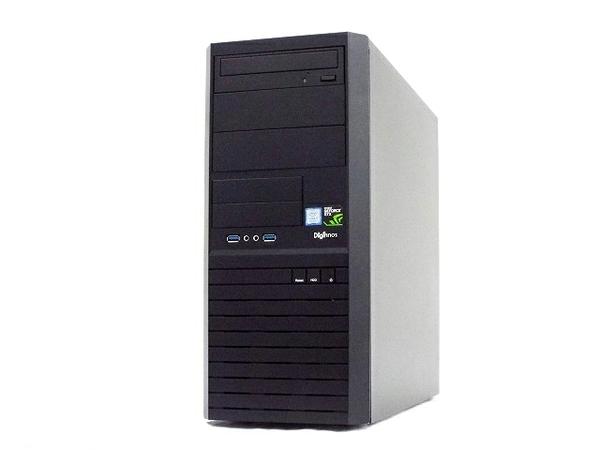 【中古】 サードウェーブ Monarch XH デスクトップPC i7 8700 3.20GHz 8GB SSD250GB HDD1.0TB GTX1050Ti Win 10 Home 64bit T3865546