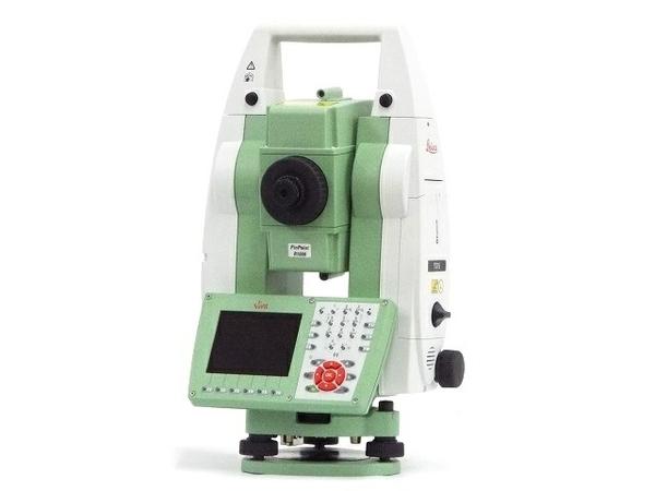 【中古】 Leica Viva TS15 P 5 R1000 自動追尾 トータルステーション v4.50 校正証明書 着脱式整準台 付き T3740172