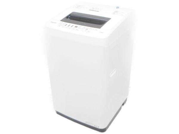 【中古】 良好 Hisense ハイセンス HW-E4502 4.5kg 全自動洗濯機 ホワイト 2018年製 【大型】 H3898945