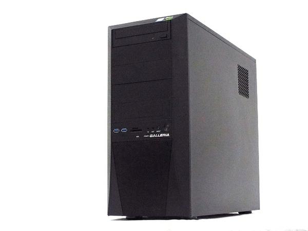 【中古】 ドスパラ GALLERIA ZT ゲーミング デスクトップ パソコン PC i7 8700K 3.70GHz 16GB SSD240GB HDD2.0TB Win10 Home 64bit GTX1060 T3883857