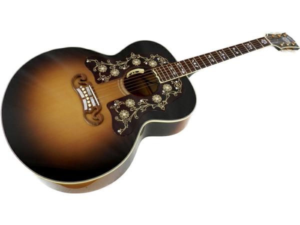 美品 【中古】 Gibson SJ-200 Bob Dylan Player Edition ボブ・ディラン モデル アコースティックギター エレアコ ケース付 2015年 S3668943